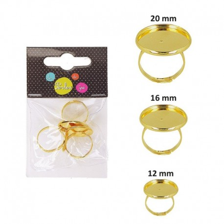 Supports Bague Rond 12/16/20mm