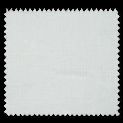 Tissu Drap de Lin Uni Blanc