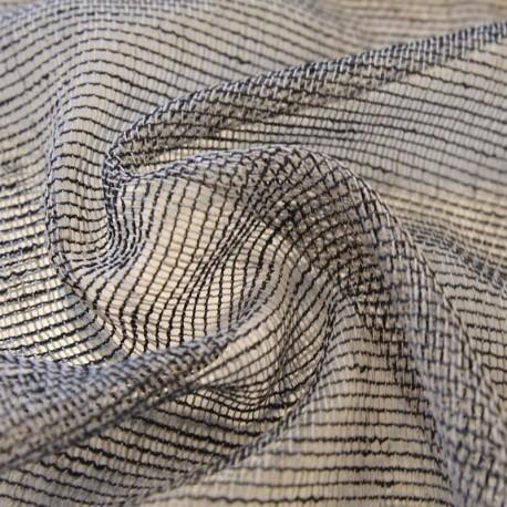 Tissu Voilage Filet Rustique Handy Taupe
