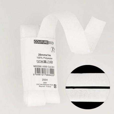 Fermeture Accrochante 20mmx1m