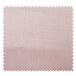 Tissu Drap de Lin Uni Rose Tendre