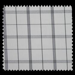 Tissu Cuistot Carreau Noir