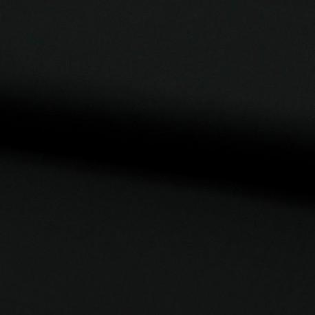 Tissu Voile de Coton Toucher Soie Noir