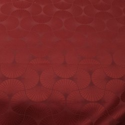 Tissu Freda Jacquard Cardinal