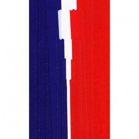 Tissu Ruban Tricolore France