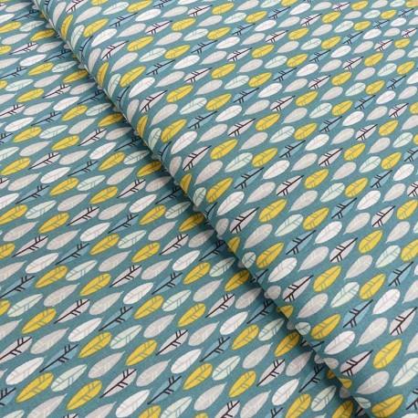 Tissu Coton Imprimé Nakoma Bleu