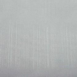 Tissu Voilage Etamine Givrée Blanc