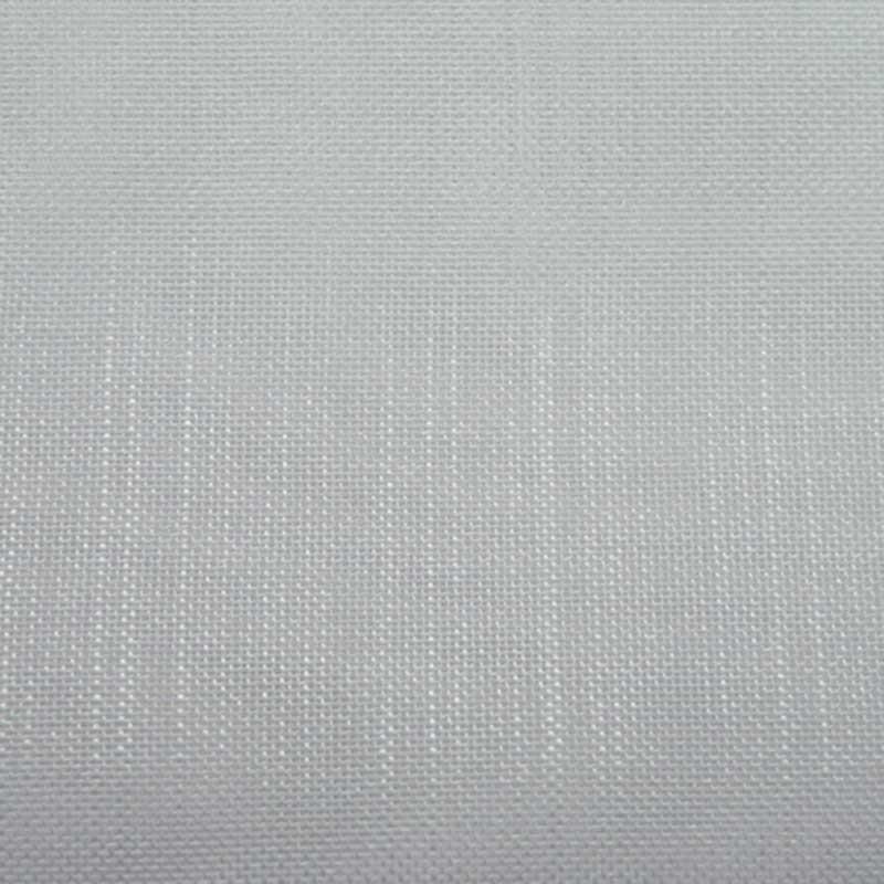 Voilage Etamine Givrée Blanc