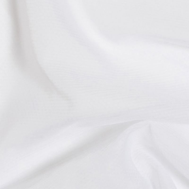 Tissu Voile Non Feu Blanc