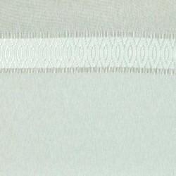 Tissu Voilage Simple Chevron Ecru