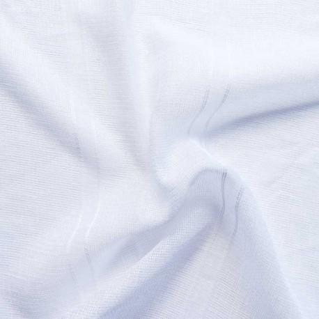 Tissu Voilage Iris Lurex Blanc