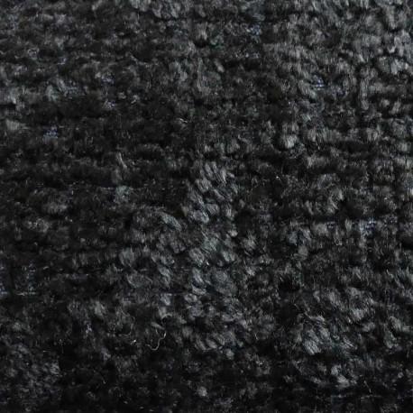 Tissu Aspect Laine Livorno Noir