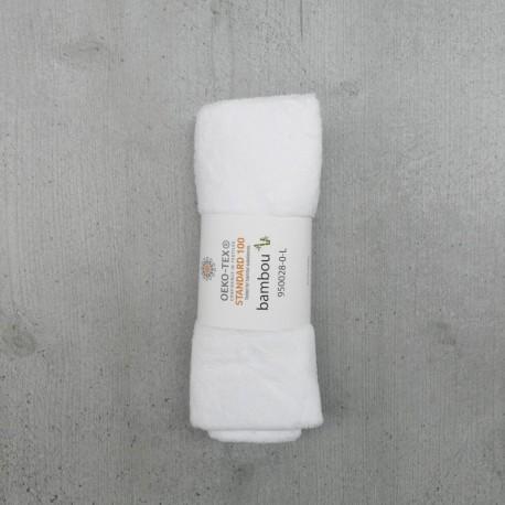 Coupon Eponge Bambou Blanc 50x70 cm