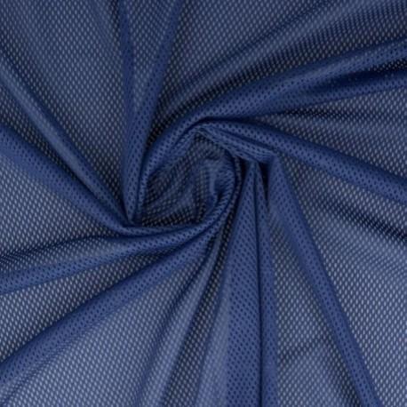 Tissu Filet Mesh Bleu Marine