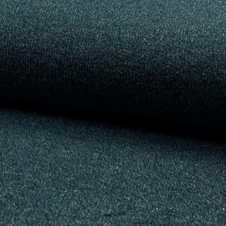 Tissu Sparkling Jersey Pétrole
