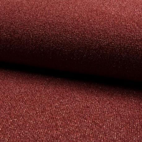 Tissu Sparkling Jersey Brique
