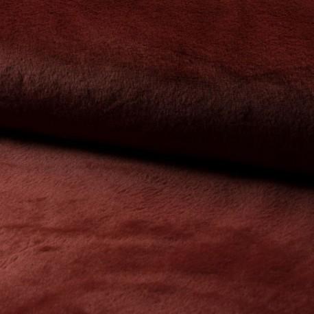 Tissu Fausse Fourrure Calista Brique