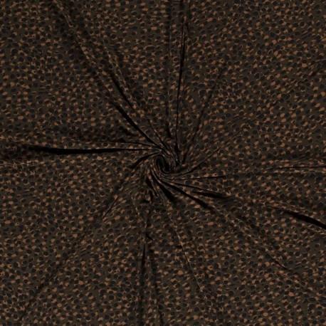 Tissu Jersey Imprimé Olive