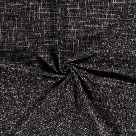 Tissu Bouclé Noir