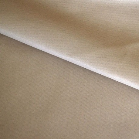 Tissu Obscurcissant Non Feu Grande Laize Beige