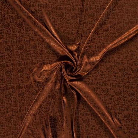 Tissu Satiné Cuivre