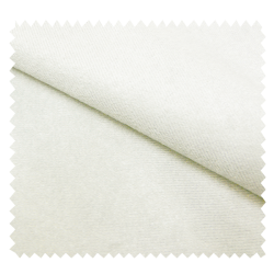 Tissu Suédine Unie Antelina Blanc