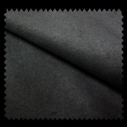 Tissu Suédine Unie Antelina Noir