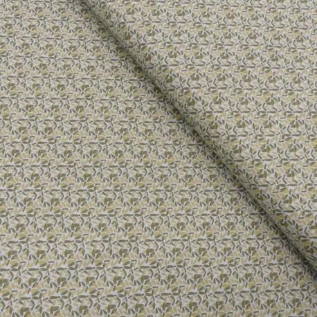 Tissu Coton Imprimé Doki Leaf