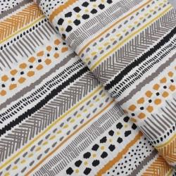 Tissu Coton Imprimé Serie Urban