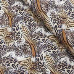 Tissu Coton Imprimé Piel Mix Unique