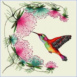 Coupon Colibri 45x45 cm