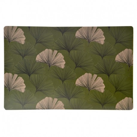 Set de Table Imprimé Chantou Vert