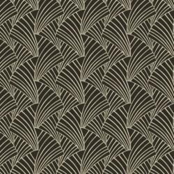 Tissu Franklin Jacquard Noir