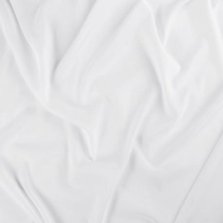 Tissu Voilage Recyclé Blanc