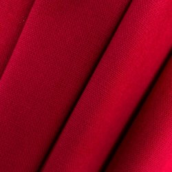 Tissu Riviera Uni Tango Rouge