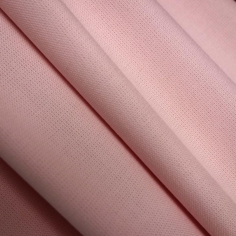 Tissu Riviera Uni Blush Rose Poudré