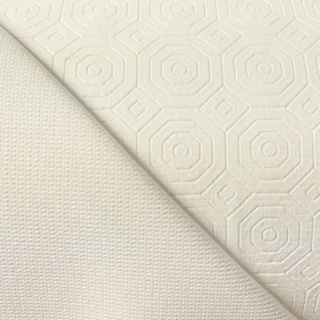 Tissu protège Gom Antidérapant Blanc