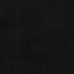 Tissu Suédine Lourde Doudou Noir