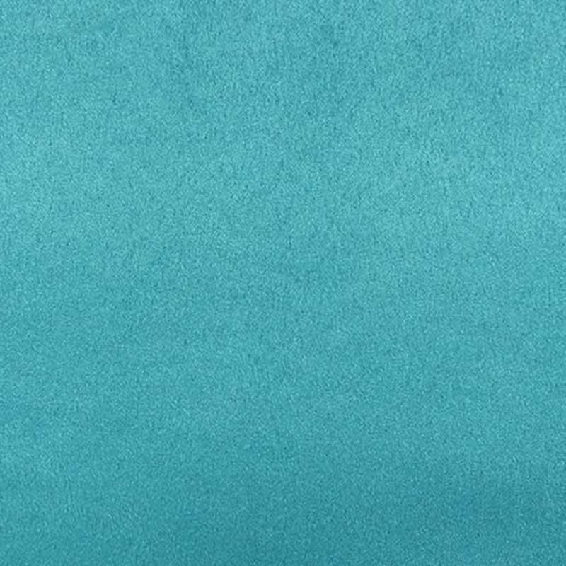 Tissu Suédine Lourde Doudou Bleu Agathe