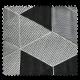 Tissu Jacquard Arletty Triangle Noir