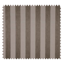 Tissu Obscurcissant Western Rayé Taupe