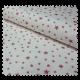 Tissu Pique Etoiles Rose