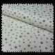 Tissu Pique Etoiles Taupe