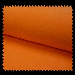 Tissu Polaire Uni Orange