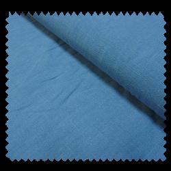 Tissu Lin Lavé Uni Bleu Foncé