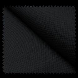 Tissu Losange Noir