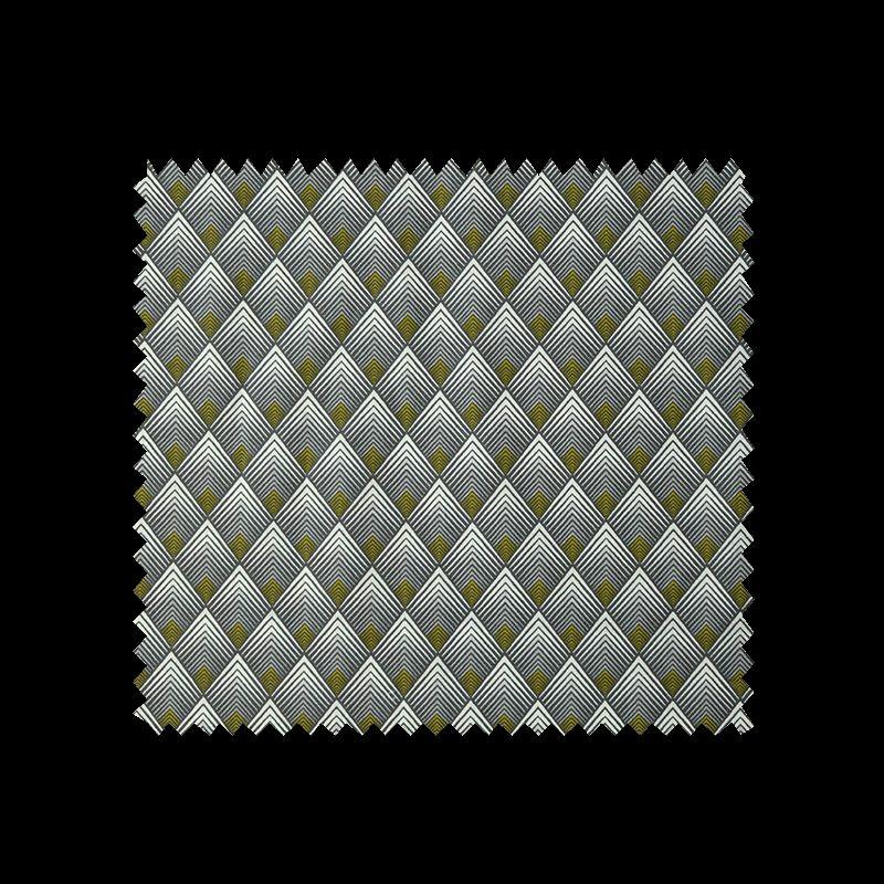 tissu patou imprim noir et or tissus des ursules. Black Bedroom Furniture Sets. Home Design Ideas