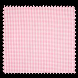 Tissu Seersucker Vichy Rose