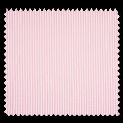 Tissu Seersucker Rayures Rose