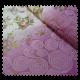 Tissu Boheme Brodé Rose